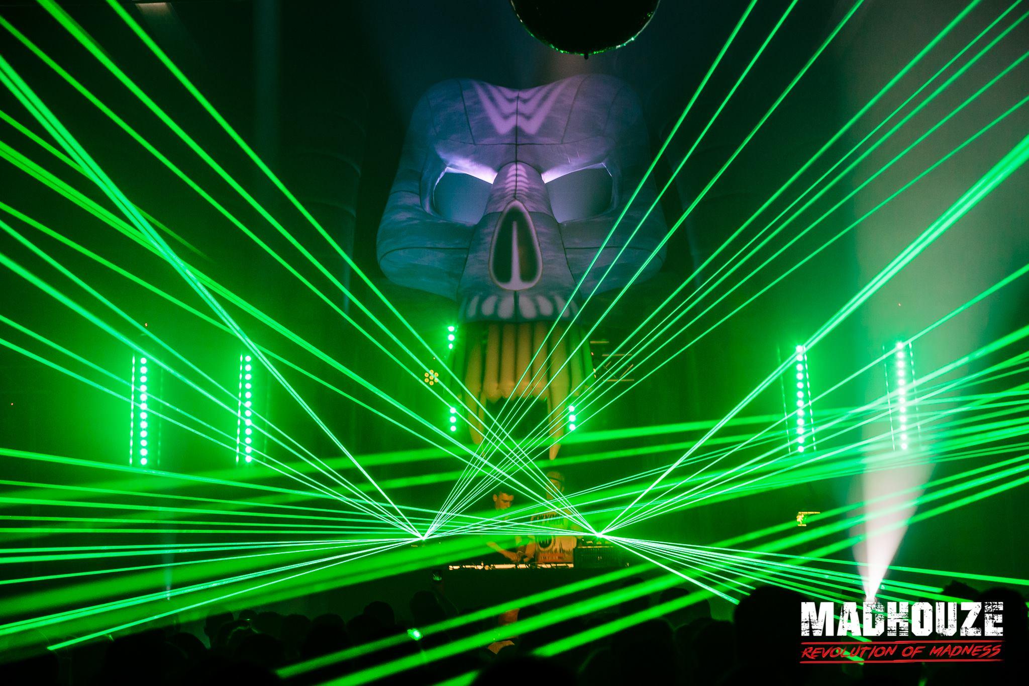 Skull tijdens Madhouze Events Revolution of Madness